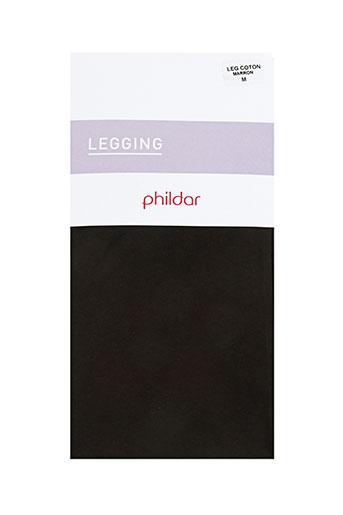 phildar pantalons femme de couleur marron