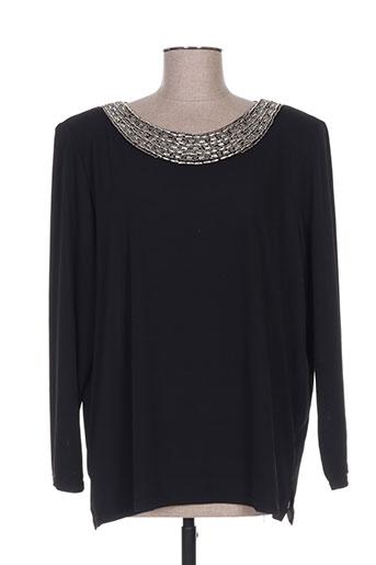 week end a paris chemises femme de couleur noir