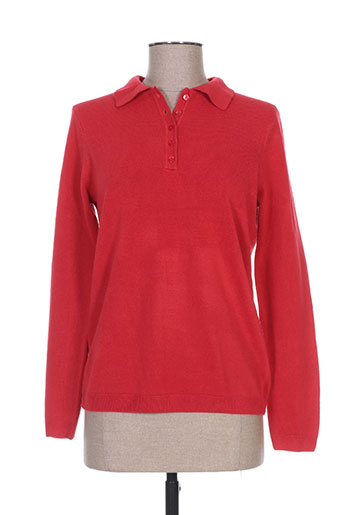 cashmere feeling pulls femme de couleur rouge