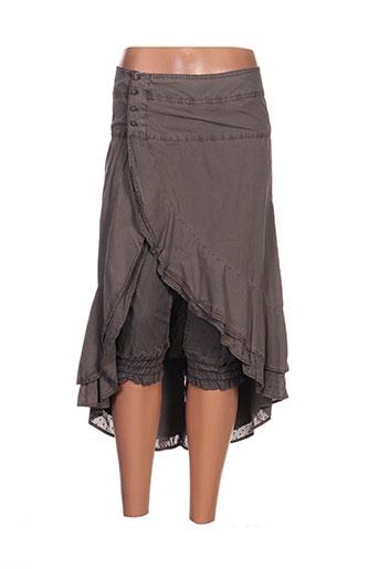 ddp jupes femme de couleur marron