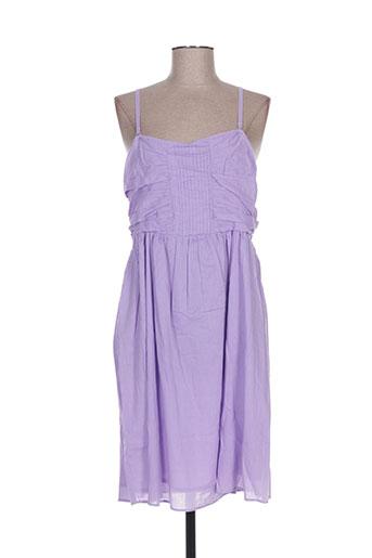 kalaïs robes femme de couleur violet