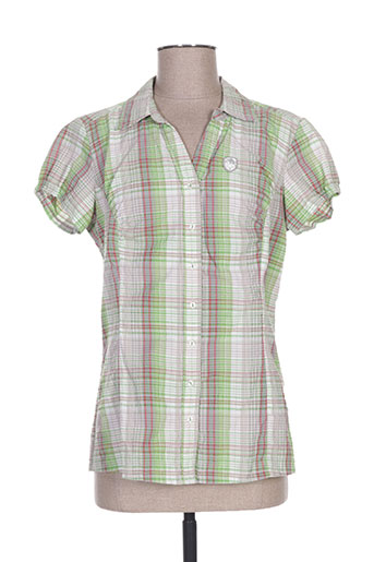 icepeak chemises femme de couleur vert