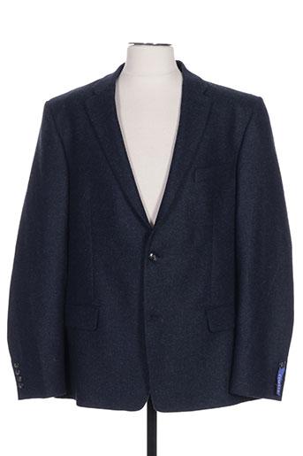 Veste casual bleu COBALT pour homme