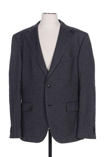 Veste casual gris HUGO BOSS pour homme