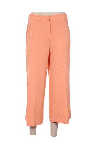 kocca pantacourts femme de couleur orange