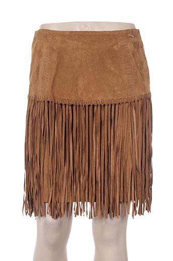 nenette jupes femme de couleur marron