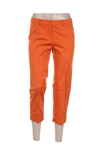 maxmara pantacourts femme de couleur orange