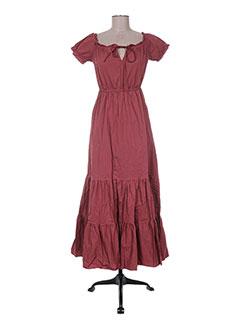 Robe longue violet ANGELA DAVIS pour femme