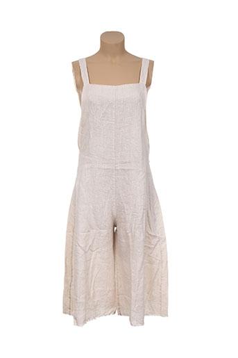 Combi-pantalon beige ANGELA DAVIS pour femme