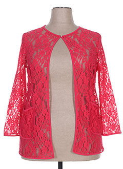 Veste casual rose DIVAS pour femme