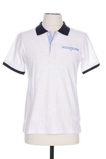 nukutavake t-shirts garçon de couleur blanc