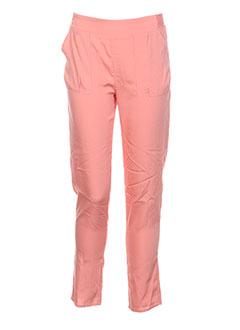 Pantalon casual orange CARREMENT BEAU pour fille