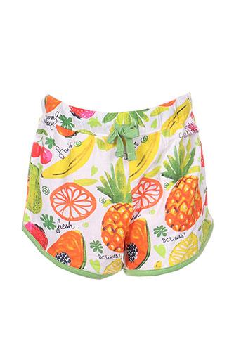 boboli shorts / bermudas fille de couleur jaune