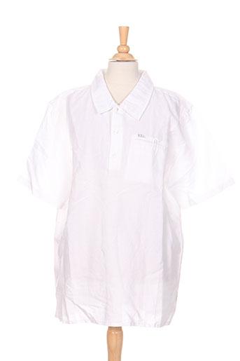 boboli chemises garçon de couleur blanc