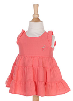 Robe mi-longue orange ABSORBA pour fille
