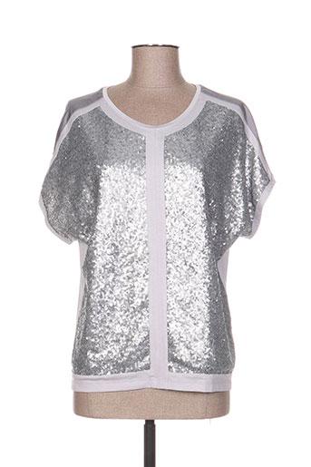 thomas rabe chemises femme de couleur gris