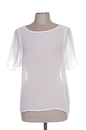 coquelicot chemises femme de couleur blanc
