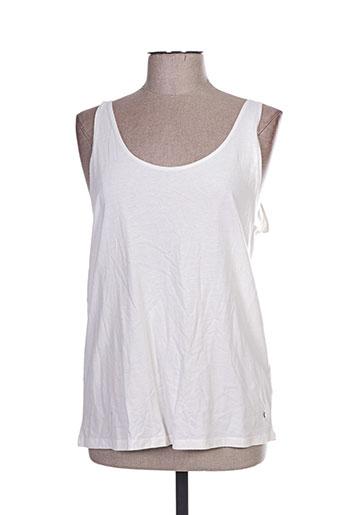 teddy smith chemises femme de couleur blanc