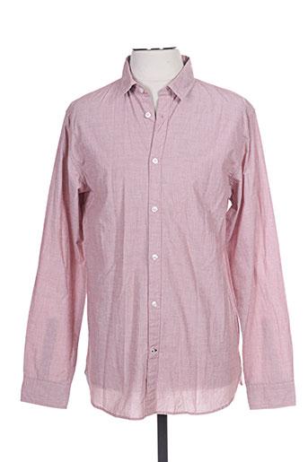 jack EFFI_CHAR_1 jones chemises homme de couleur rouge