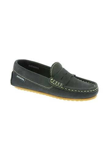 diggers chaussures garçon de couleur bleu