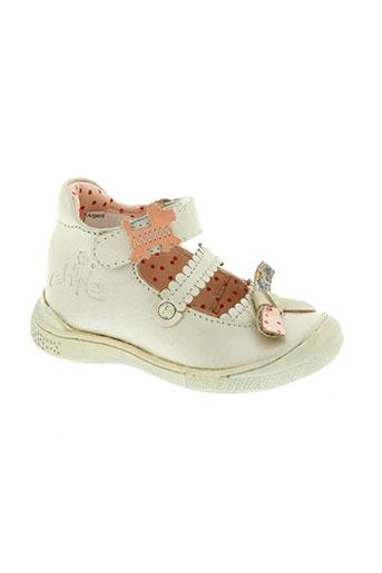 chipie chaussures fille de couleur rose
