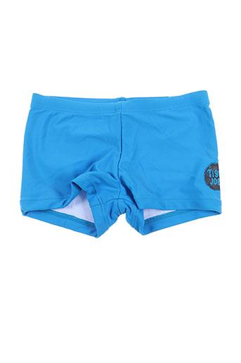 tiger joe maillots de bain garçon de couleur bleu