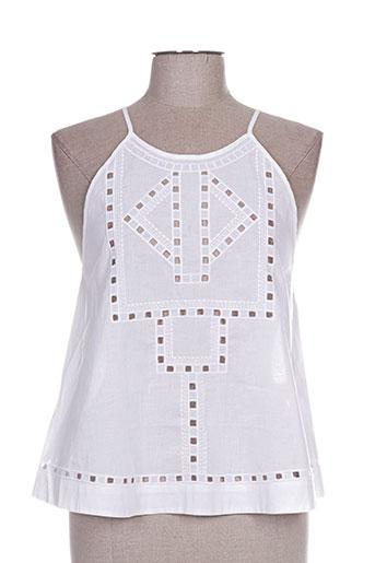 seafolly chemises femme de couleur blanc