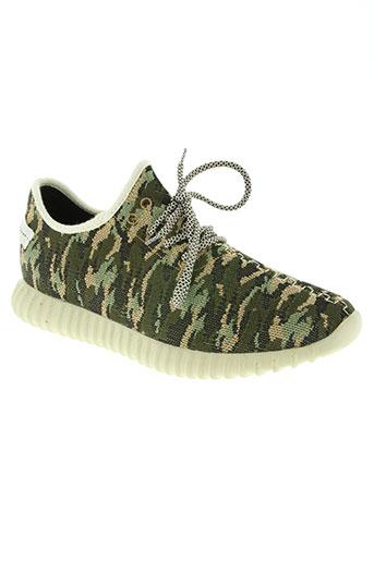 g-class chaussures homme de couleur vert