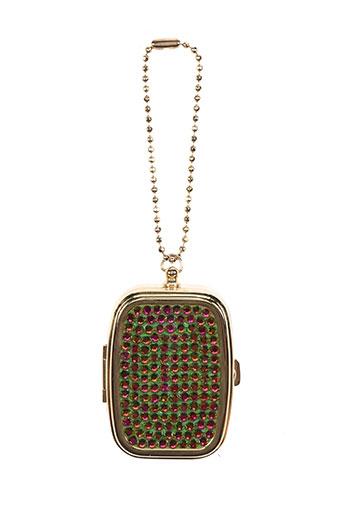 ambrosia paris accessoires femme de couleur vert