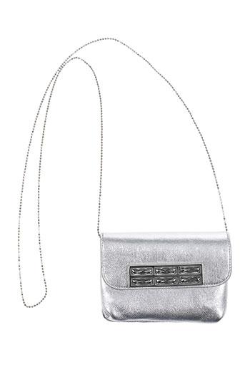 Pochette gris AMBROSIA PARIS pour femme