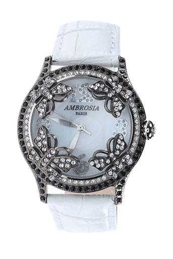 Montre blanc AMBROSIA PARIS pour femme