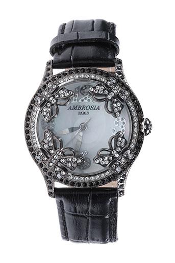Montre noir AMBROSIA PARIS pour femme