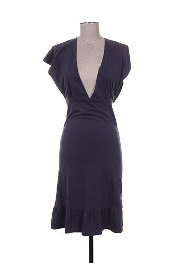 Robe mi-longue violet ENOLAH pour femme