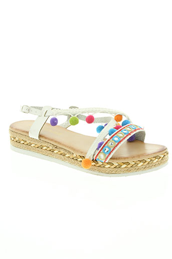 chicmuse chaussures femme de couleur blanc