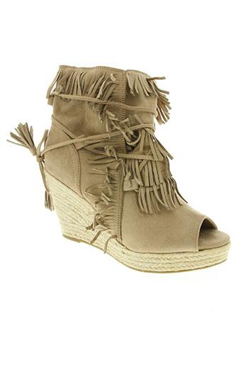bellucci chaussures femme de couleur beige