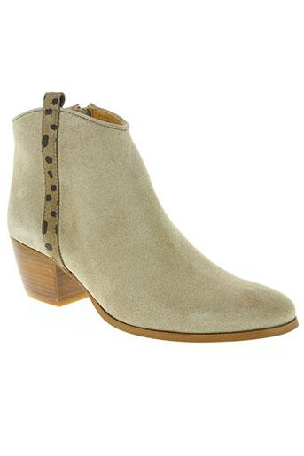 mkd chaussures femme de couleur beige