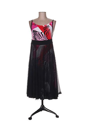 paramita robes femme de couleur rouge