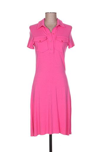 cottonade robes femme de couleur rose