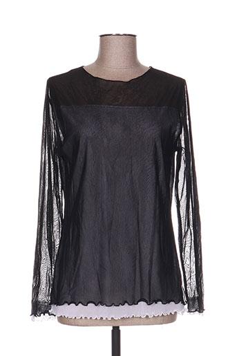 poussiere d'etole chemises femme de couleur noir
