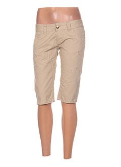 Produit-Shorts / Bermudas-Femme-E.LOCO
