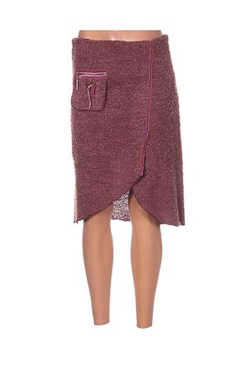 coco menthe jupes femme de couleur rose