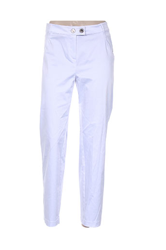 lasagrada pantacourts femme de couleur blanc