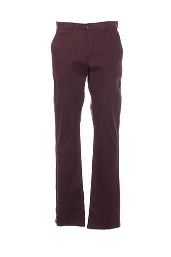 cambridge pantalons homme de couleur violet