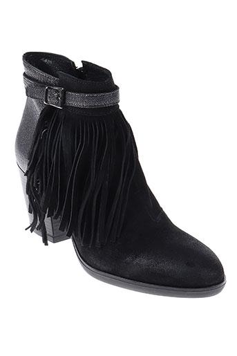 Bottines/Boots noir BISOUS CONFITURE pour femme