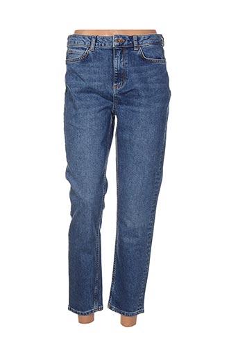vero moda jeans femme de couleur bleu