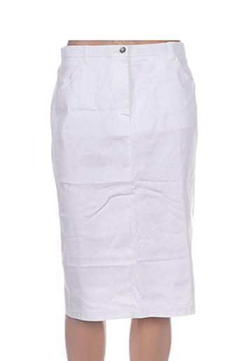 jean gabriel jupes femme de couleur blanc