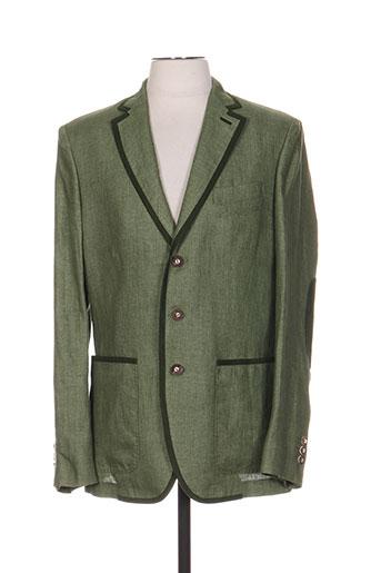 schneiders vestes homme de couleur vert