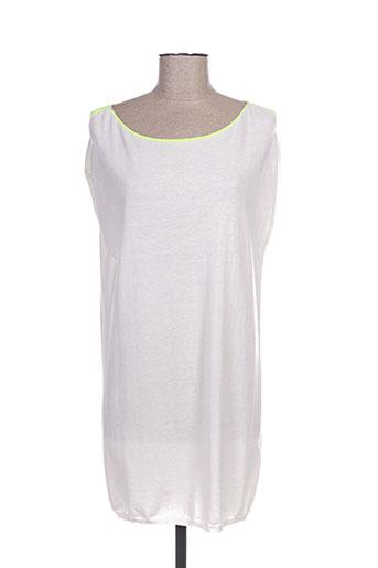 allude robes femme de couleur blanc