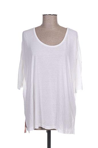 paul smith t-shirts femme de couleur blanc
