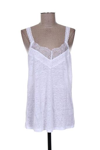 jardin des orangers chemises femme de couleur blanc